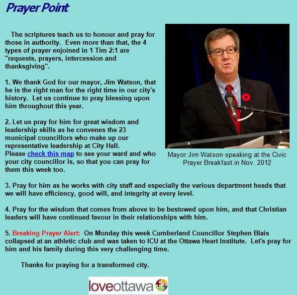 Prayer Point